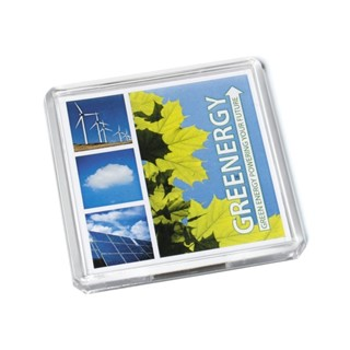 Acrylic Square Magnet 64x64mm