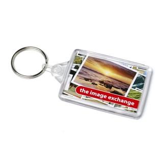 Acrylic Ideal Keyfob 41x66mm