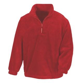 Active Fleece Top 1/4 Zip Unlined jacket