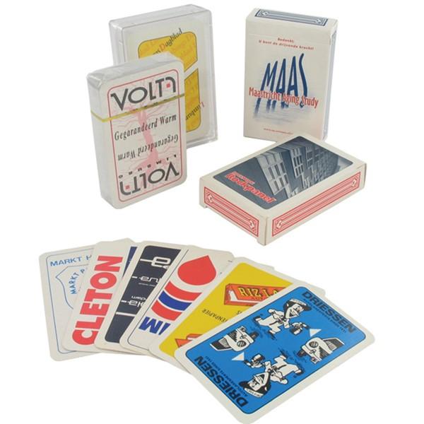 Eigen ontwerp speelkaarten