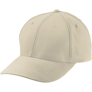 6 Panel Polyester Peach Cap