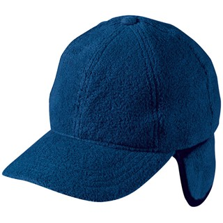 6 Panel Fleece Cap with Earflaps