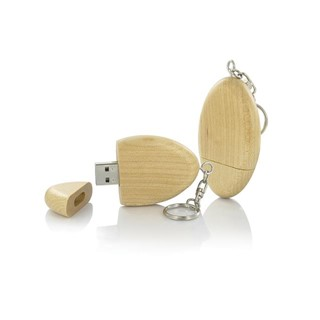 USB flash drive in hout