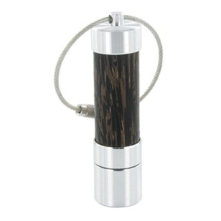 USB flash drive made of real wood and aluminium, h
