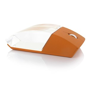 Wireless mouse with glass body 10m range formaat 110