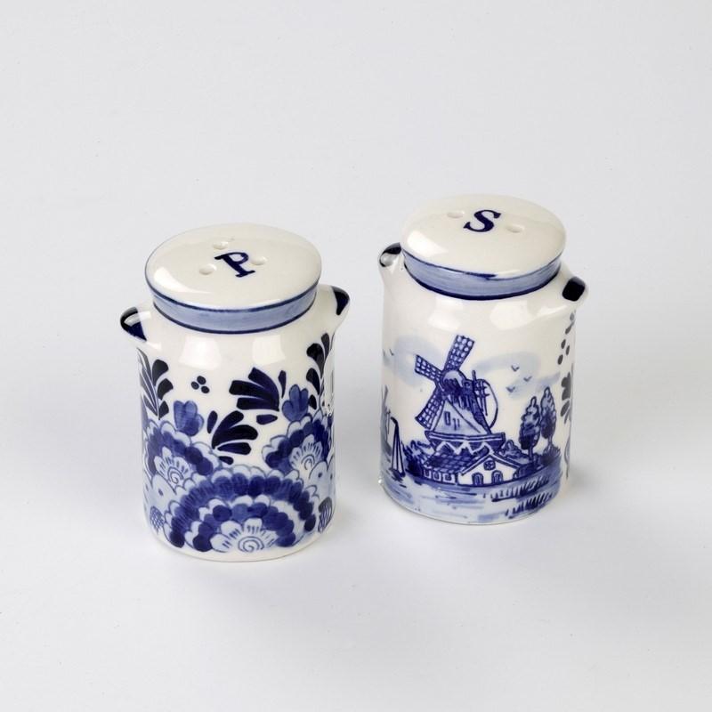 Delfts Blauw peper- en zoutstelletje