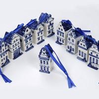 Delfts Blauw - huis aan een lint