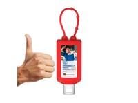 Handwaspasta, Hangflacon 50 ml (rood), Body Label