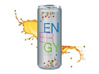Energy Drink, 250 ml, Body Label