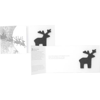 Rudolph's Card, incl 1-4 c digital printing, witho