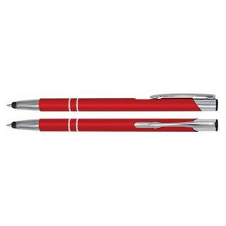 Aluminium Touch pen Stylus rood