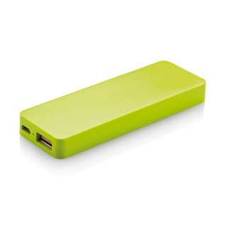 2500 mAh powerbank, zwart