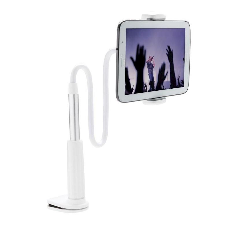 Flexibele telefoon- en tablethouder, wit