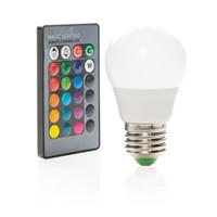 Kleurlamp met afstandsbediening, wit