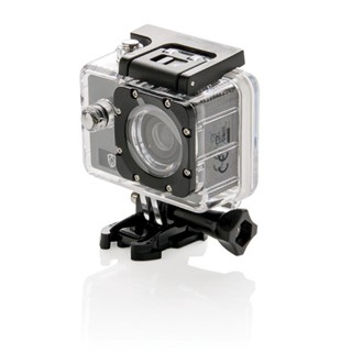 Action camera set, grijs