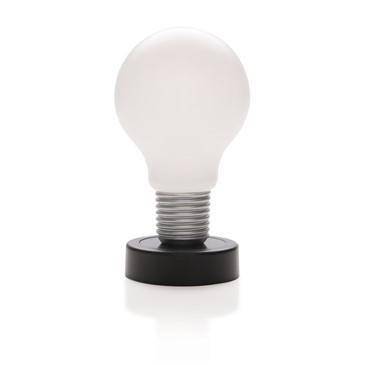 Bureaulamp in de vorm van een gloeilamp