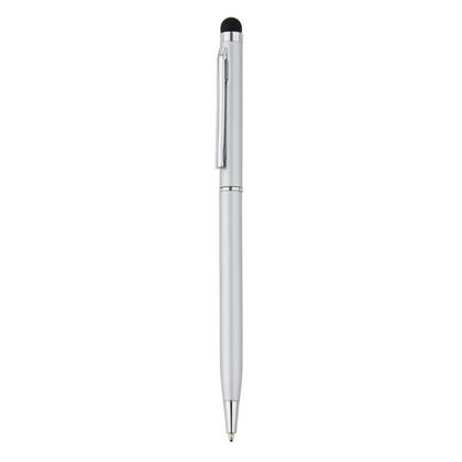 Aluminium touchscreen pen, blauw