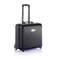 Hard shell business trolley, zwart