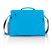 PVC vrije exhibition tas, blauw