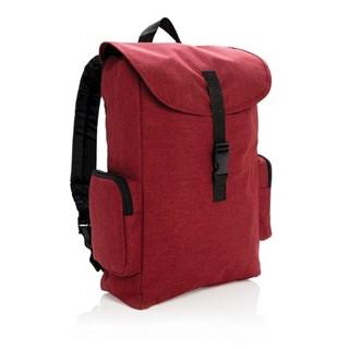 15 Laptop rugtas met buckel sluiting, rood