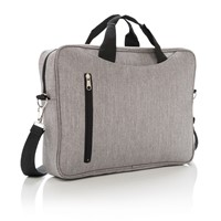 Basic 15 laptop tas, antraciet