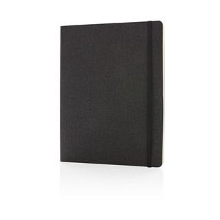 Deluxe B5 notitieboek soft cover XL, zwart