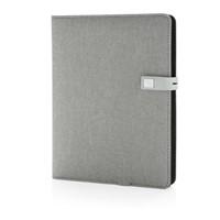 Kyoto powerbank & 16GB USB notitieboek, zwart