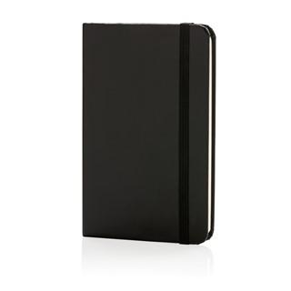 A6 Basic hardcover notitieboek, zwart