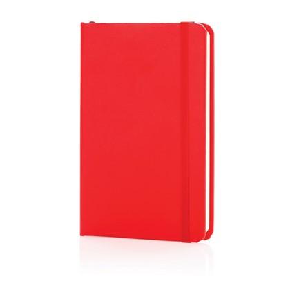 A6 basic hardcover notitieboek, roze