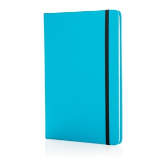 A5 standaard hardcover PU notitieboek, zwart