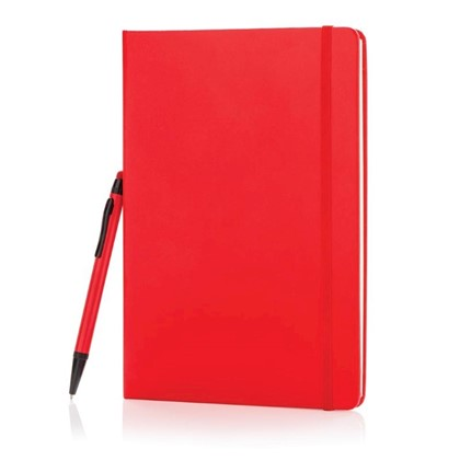 A5 basic hardcover notitieboek met touchscreen pen