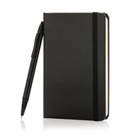 A6 basic hardcover notitieboek met touchscreen pen