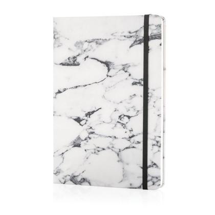 A5 Deluxe marmer notitieboek, zwart