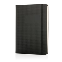 A5 deluxe geperforeerd hardcover PU notitieboek, z