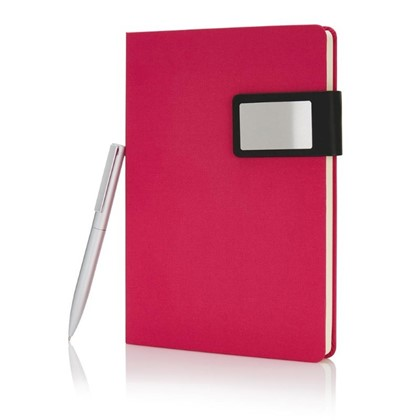 A5 Prestige notitieboek set, roze