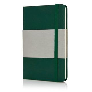 A6 hardcover notitieboek, groen