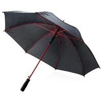 23 fiberglas gekleurde paraplu, rood