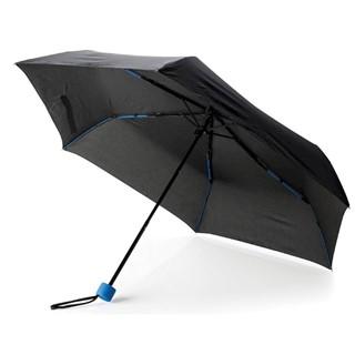 21 fiberglas gekleurde opvouwbare paraplu, blauw