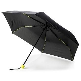 21 fiberglas gekleurde opvouwbare paraplu, limegr