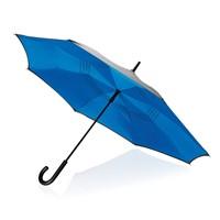 23 handmatig reversible paraplu, grijs