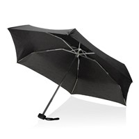Swiss Peak mini paraplu, zwart