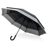 Swiss Peak 23 tot 27 uitschuifbare paraplu, zwart