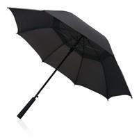 Tornado 23 storm paraplu, zwart