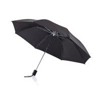 Deluxe 20 opvouwbare paraplu, zwart