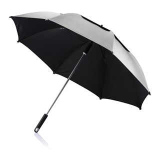 27 Hurricane storm paraplu, zwart