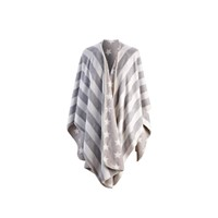 Prachtige fleece poncho