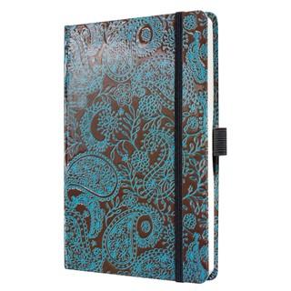 Notebook CONCEPTUM® design, posh paisley, Hardcove