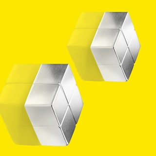 SuperDym magnets C10 Extra-Strong, cube design, si