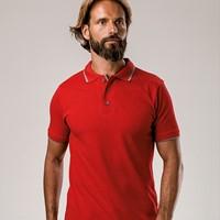 ROME ROME Slim fit polo hemd voor mannen