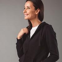 AMSTERDAM WOMEN AMSTERDAM WOMEN Hooded sweatshirt voor vrouwen met volledige rits